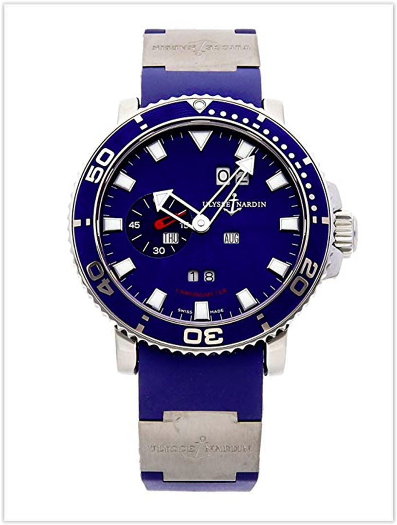 Ulysse Nardin Acqua Perpetual Calendar Mechanical Blue Dial Men's Watch Price