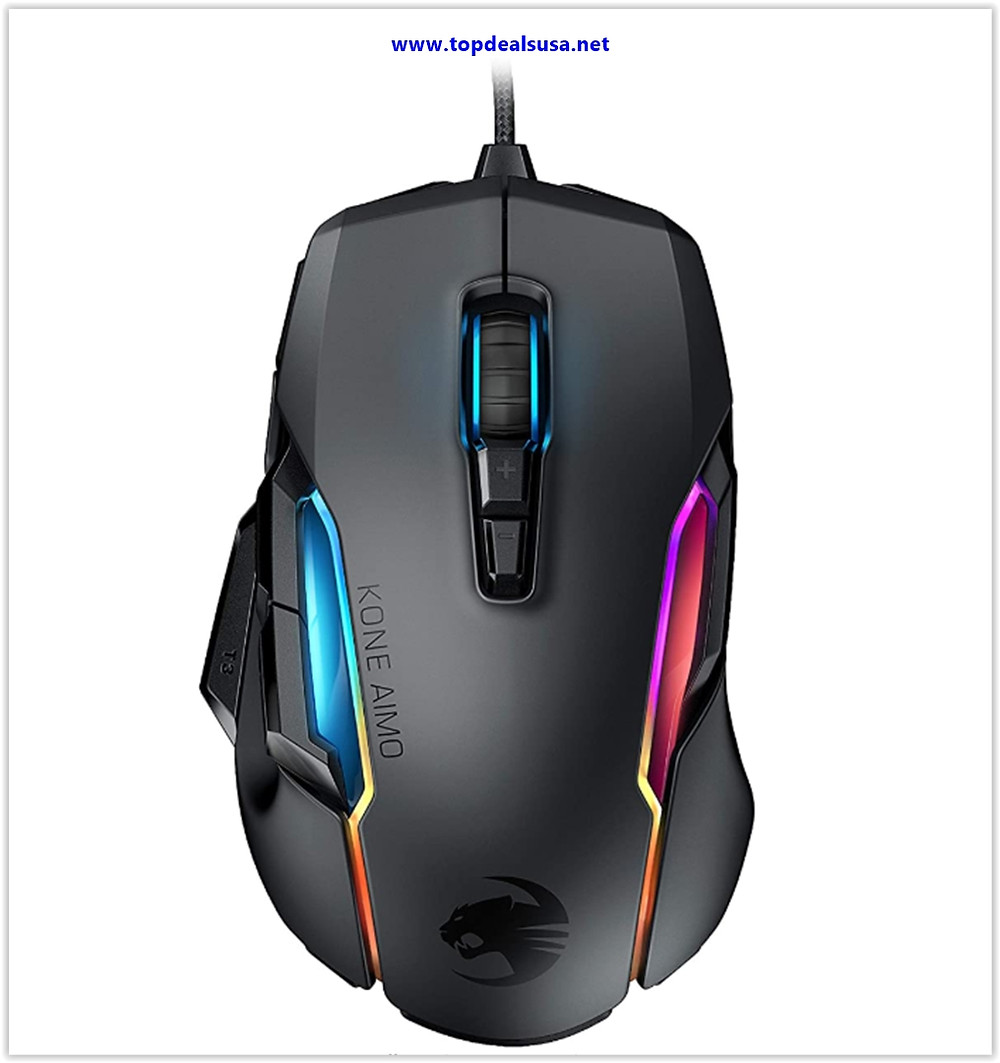 Best buy Roccat Kone AIMO Gaming Mouse (High Precision, Optical Owl-Eye Sensor (100 to 16.000 DPI)