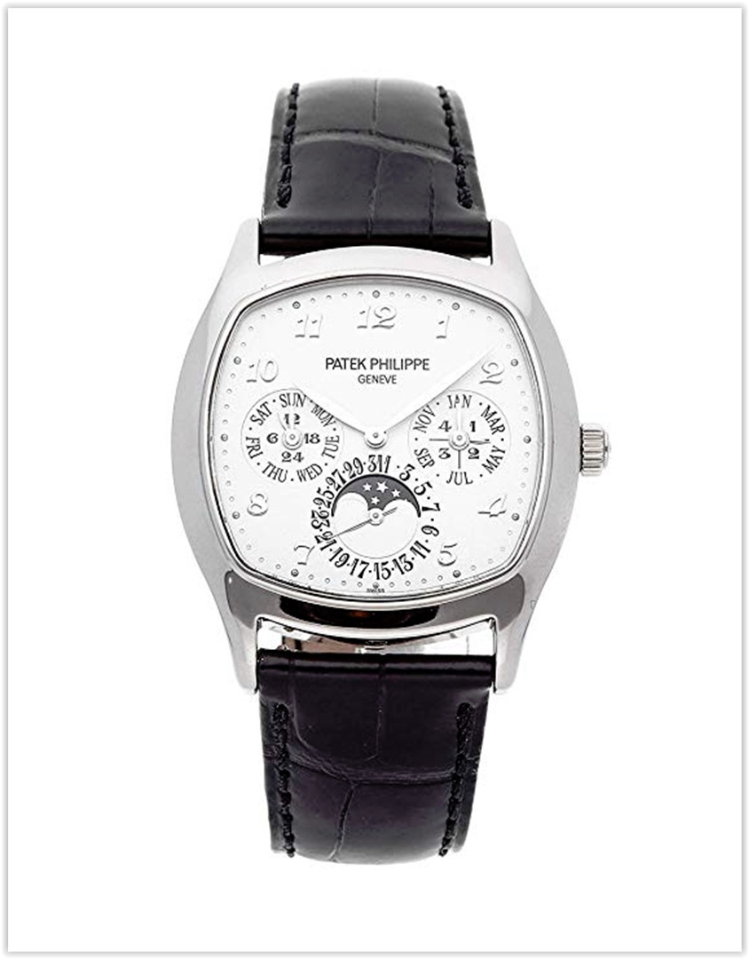 Patek Philippe Grand Complications Mechanical (Automatic) Silver Dial Men's Watch 5940G-001 best price