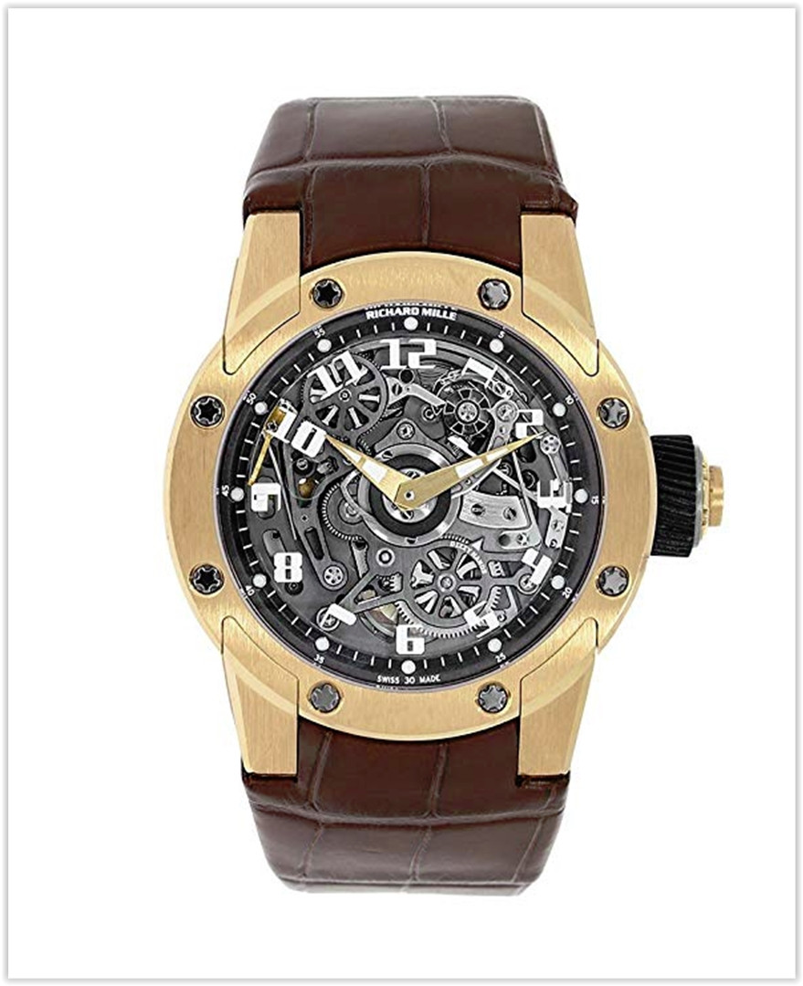 Richard Mille RM 063 Automatic-self-Wind Men's Watch RM63-01 best price