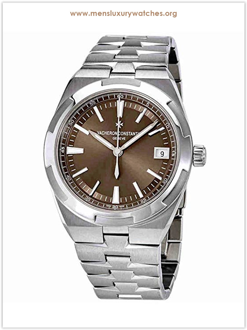 Vacheron Constantin Overseas Brown Automatic Men's Watch Price