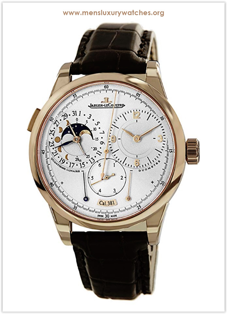 Jaeger-LeCoultre Duometre Chronograph Rose Gold Men's Watch Price