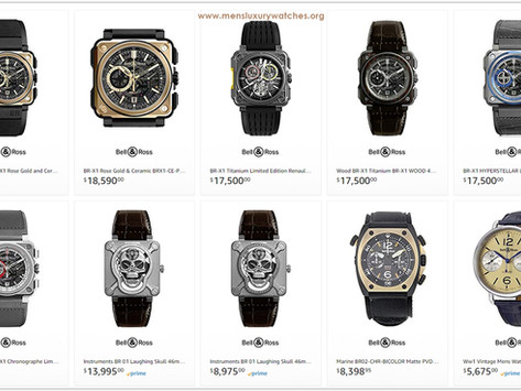 Luxury Lifestyle Advice: The Bell & Ross Men's Watches Price List