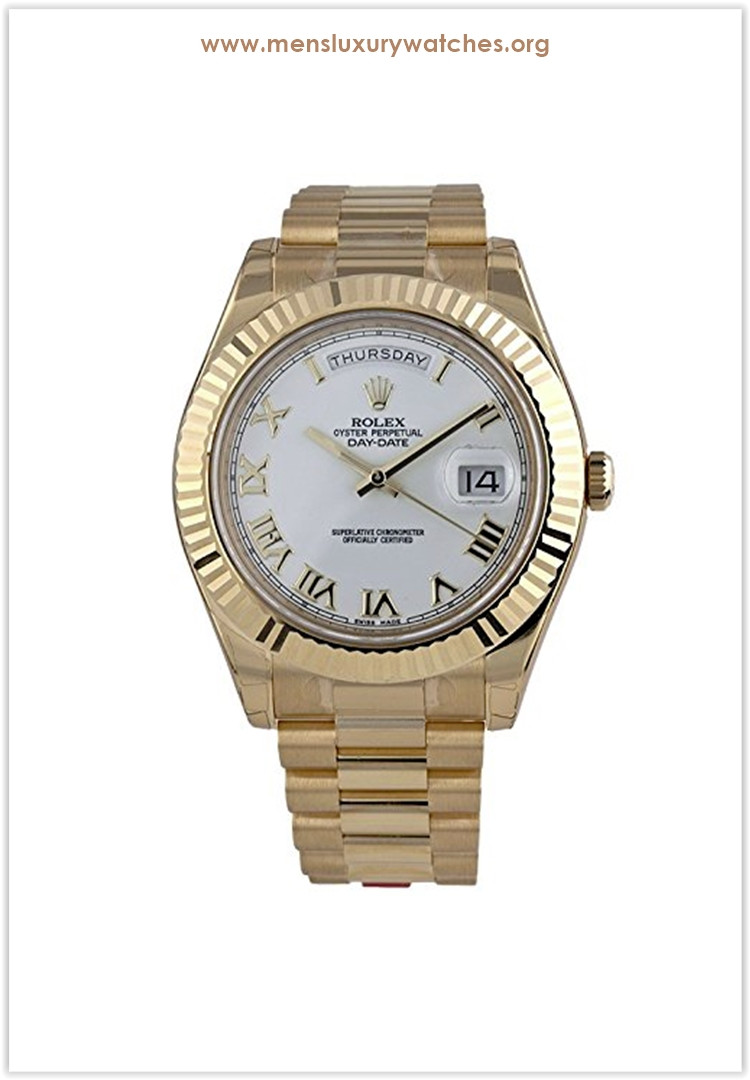 Rolex Day-Date II 2 President Yellow Gold Men's Watch Price