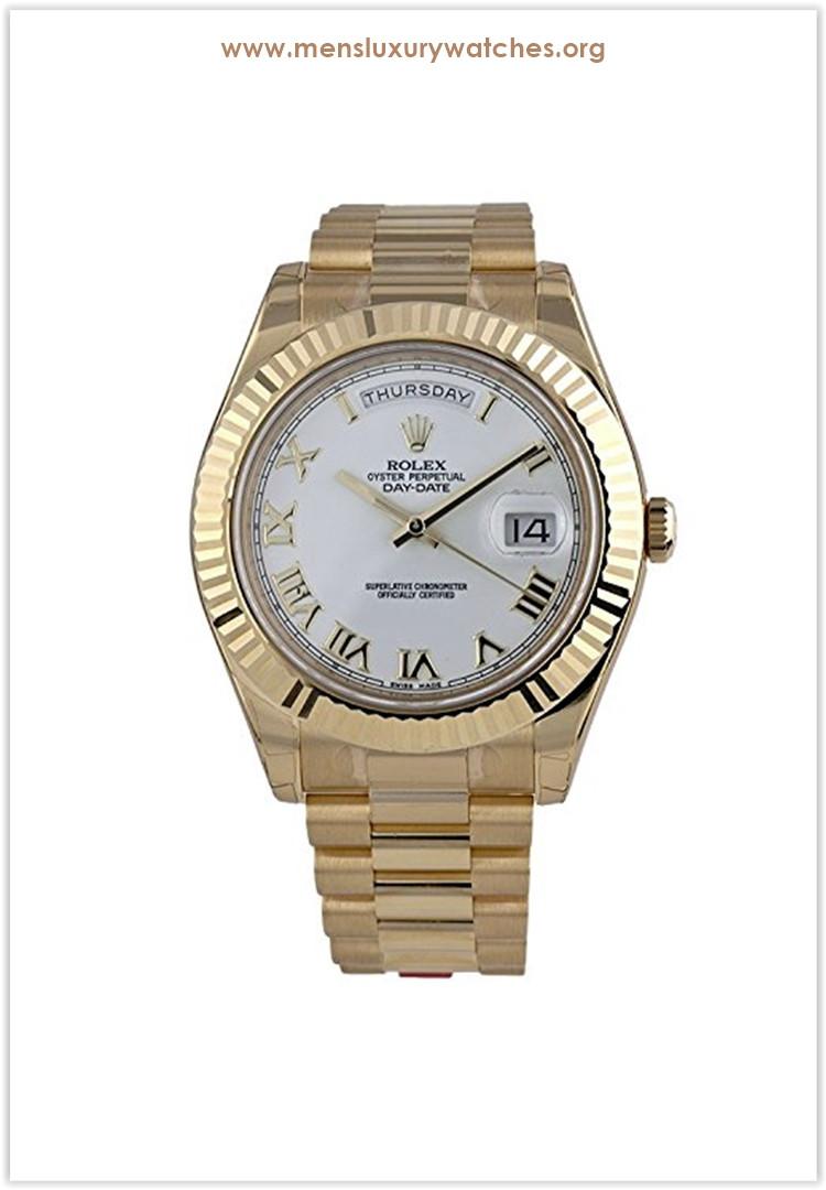Rolex Day-Date II 2 President Yellow Gold Men's Watch Price