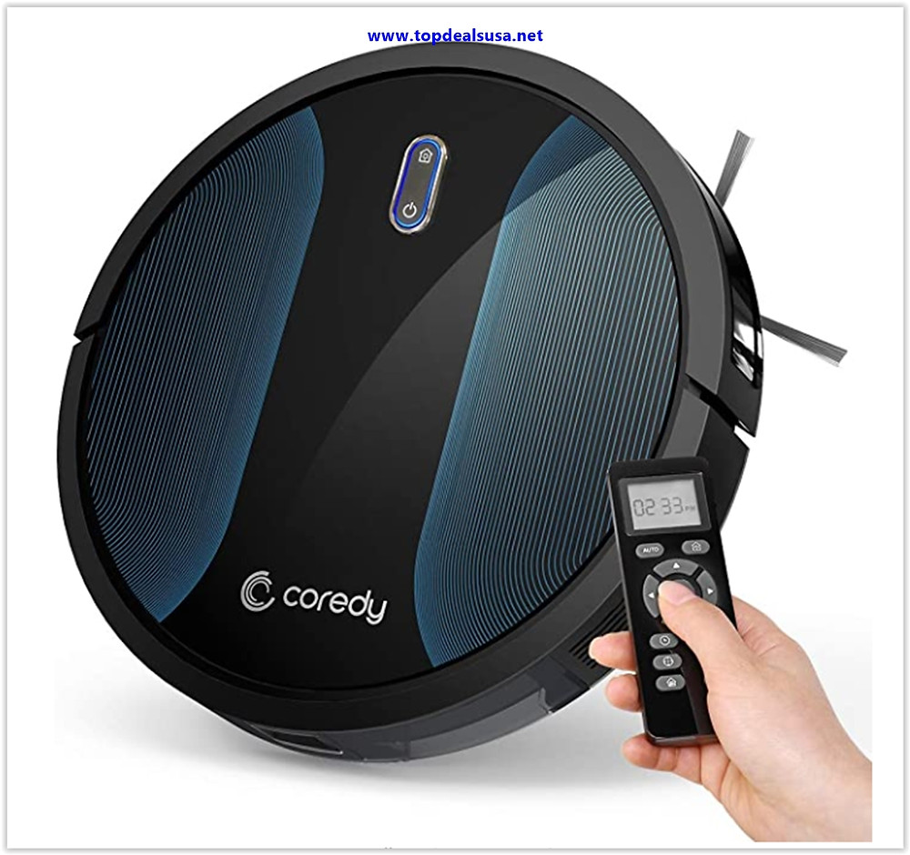 Best buy Coredy Robot Vacuum Cleaner, Fully Upgraded, Boundary Strip Supported, 360° Smart Sensor Protection