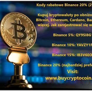 Kody rabatowe Binance 20% (2020-2021).jp