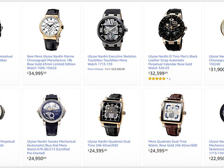 Ulysse Nardin luxury watches for men price list
