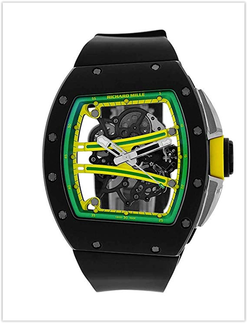 Richard Mille Yohan Blake Limited Edition TZP Black Ceramic Watch RM61-01 Men's Watch Price