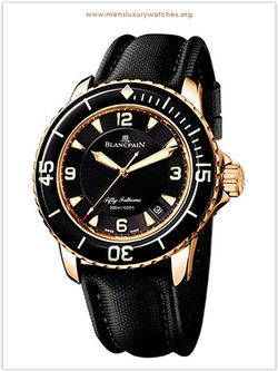Blancpain Fifty Fathoms Gold Watch for m