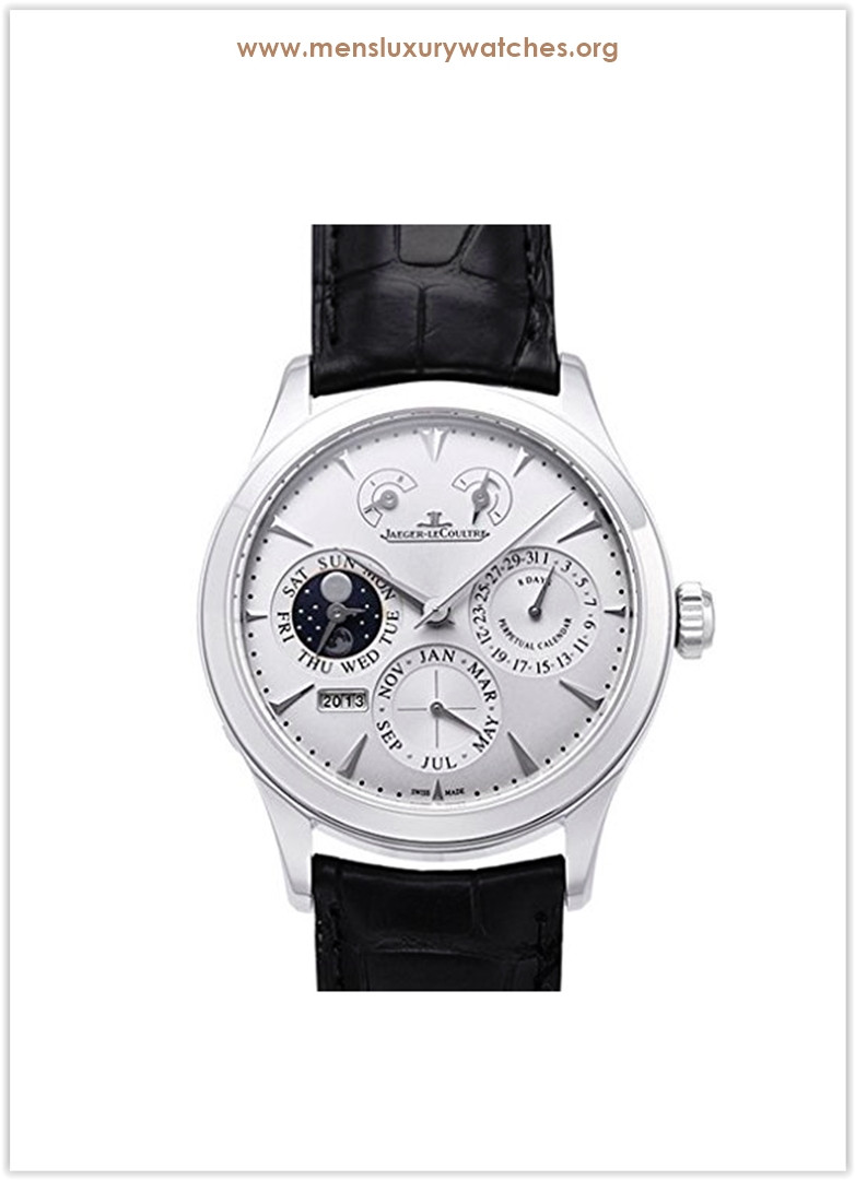 Jaeger-LeCoultre Master Eight Days Perpetual Calendar Stainless Steel Men's Watch Price