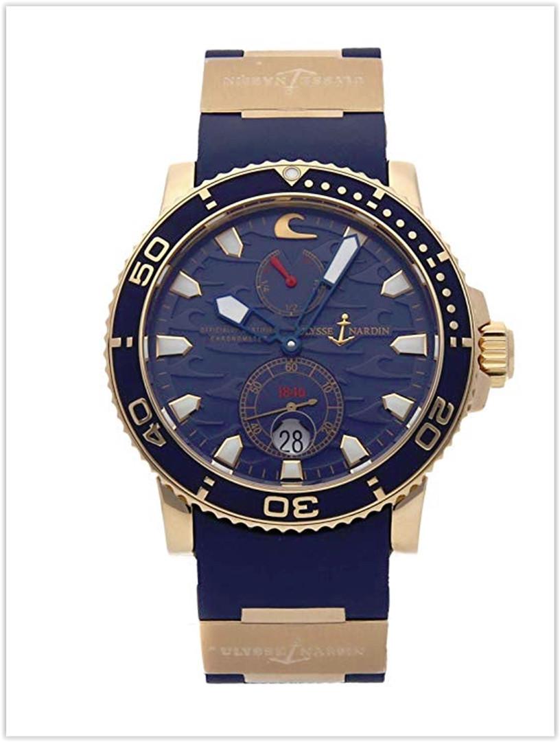 Ulysse Nardin Marine Mechanical Blue Dial Men's Watch Best Price