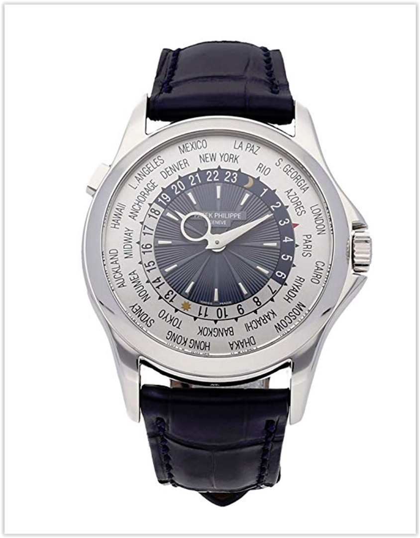 Patek Philippe Complications Mechanical (Automatic) Blue Dial Men's Watch 5130P-020 best price