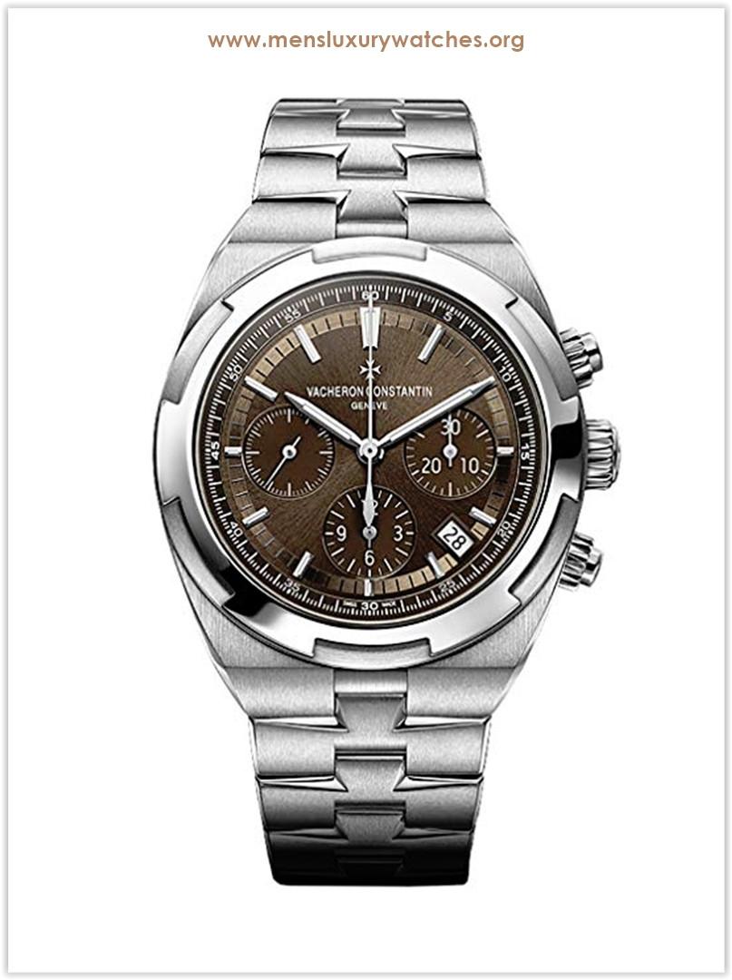 VACHERON CONSTANTIN Overseas Brown Dial Chronograph Men's Watch Price