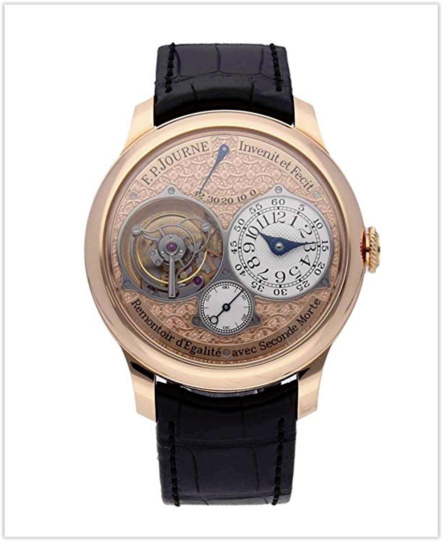 F.P. Journe Souverain Mechanical (Hand-Winding) Rose Dial Mens Watch Tourbillon Souverain best price