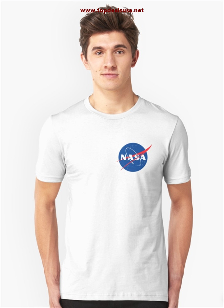 Official Nasa Slim Fit T-Shirt best buy