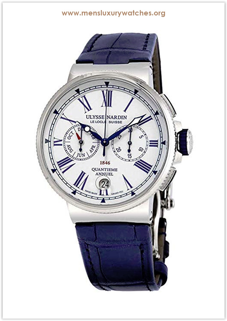 Ulysse Nardin Marine Annual Calendar Chronograph Automatic Men's Watch the best price