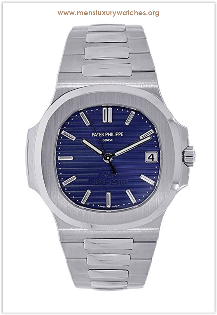 Patek Philippe Nautilus 40mm Platinum 40th Anniversary Men's Watch the best price