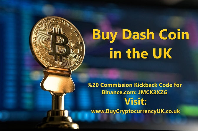 Buy Dash Coin in the UK