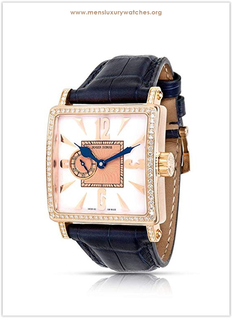 Roger Dubuis Golden Square Mechanical-Hand-Wind Men's Watch Price