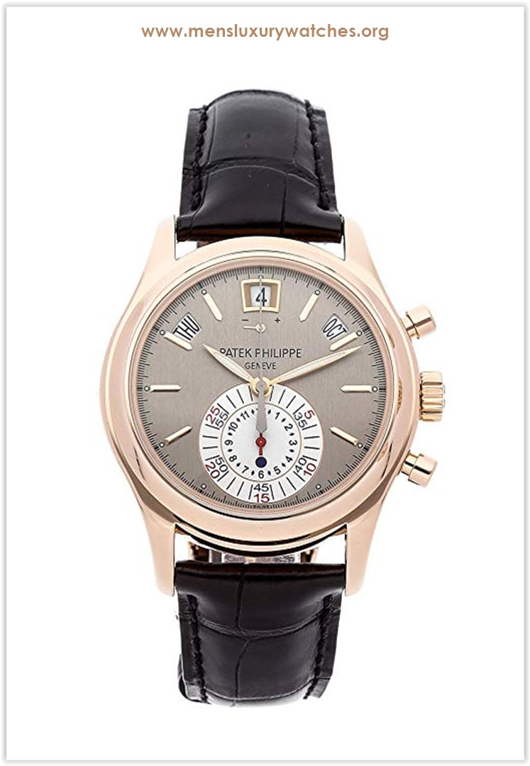 Patek Philippe Complications Mechanical (Automatic) Grey Dial Watch