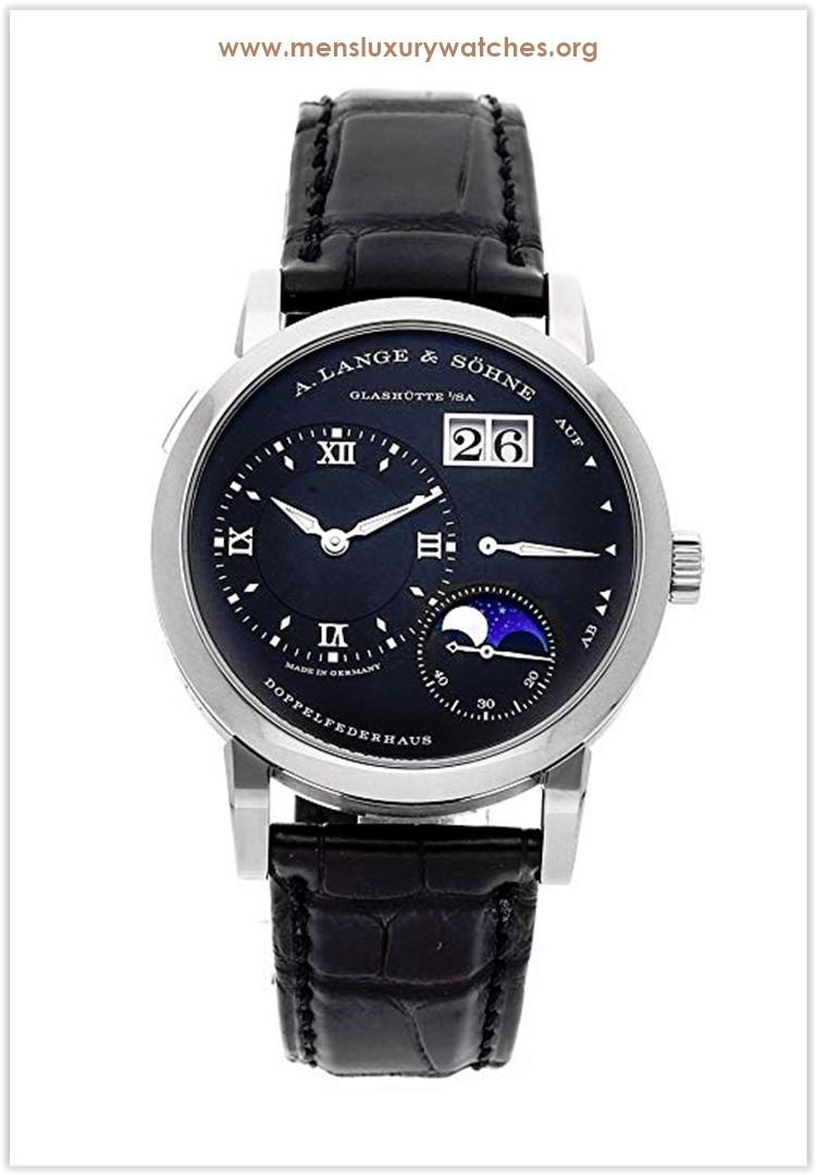 A. Lange & Sohne Lange 1 Mechanical Black Dial Men's Watch Price