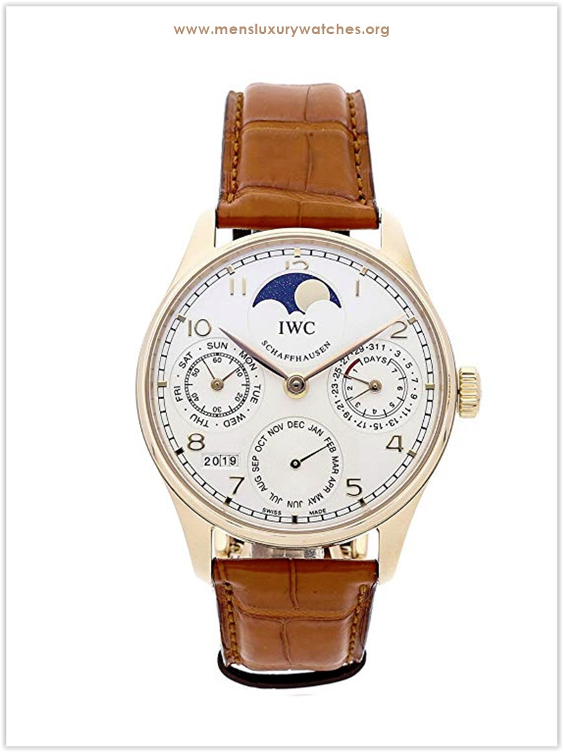 IWC Portugieser Mechanical Silver Dial Men's Watch
