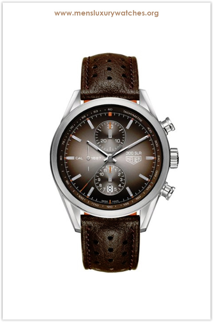 Tag Heuer Carrera Brown Men's Watch Price