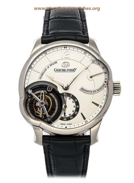 Greubel Forsey Tourbillon Manual Wind Silver Dial Watch GF01 (Pre-Owned)