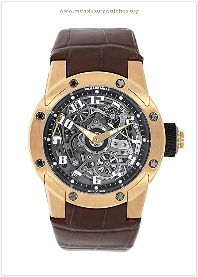 Richard Mille Dizzy Hands Rose Gold Watch RM63-01