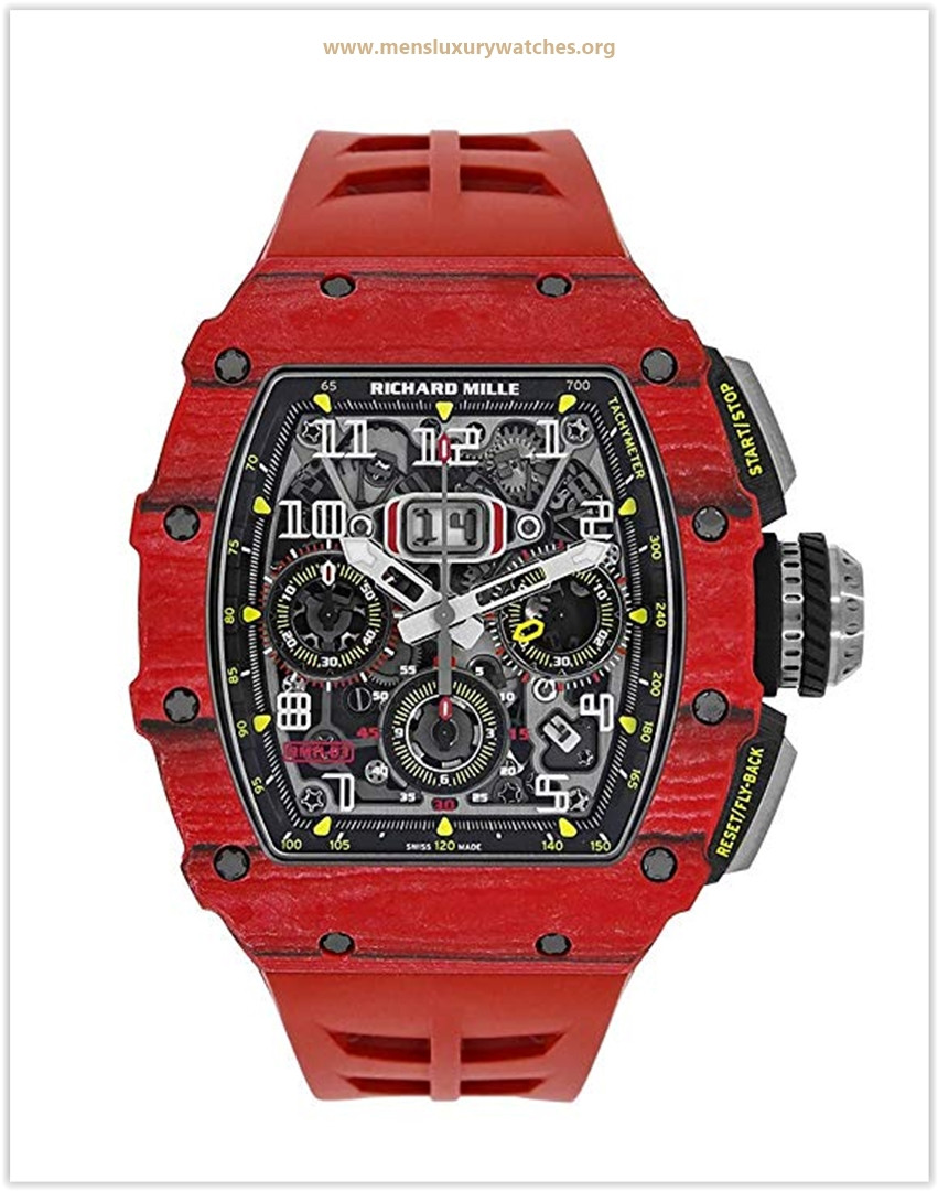 Richard Mille RM 011 Automatic-self-Wind Male Watch RM11-03 Price May 2019