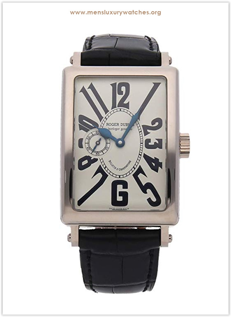 Roger Dubuis Much More Mechanical (Hand-Winding) Silver Dial Men's Watch