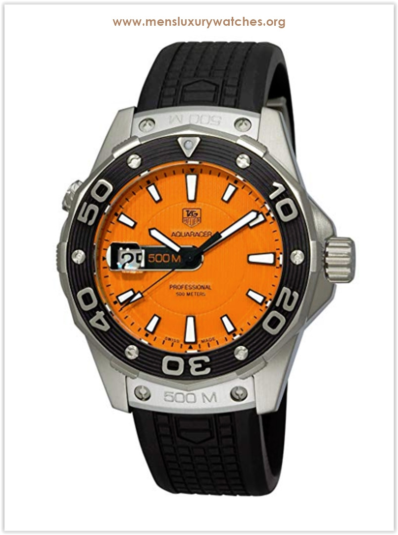 TAG Heuer Aquaracer 500m Rubber Strap Men's Watch Price