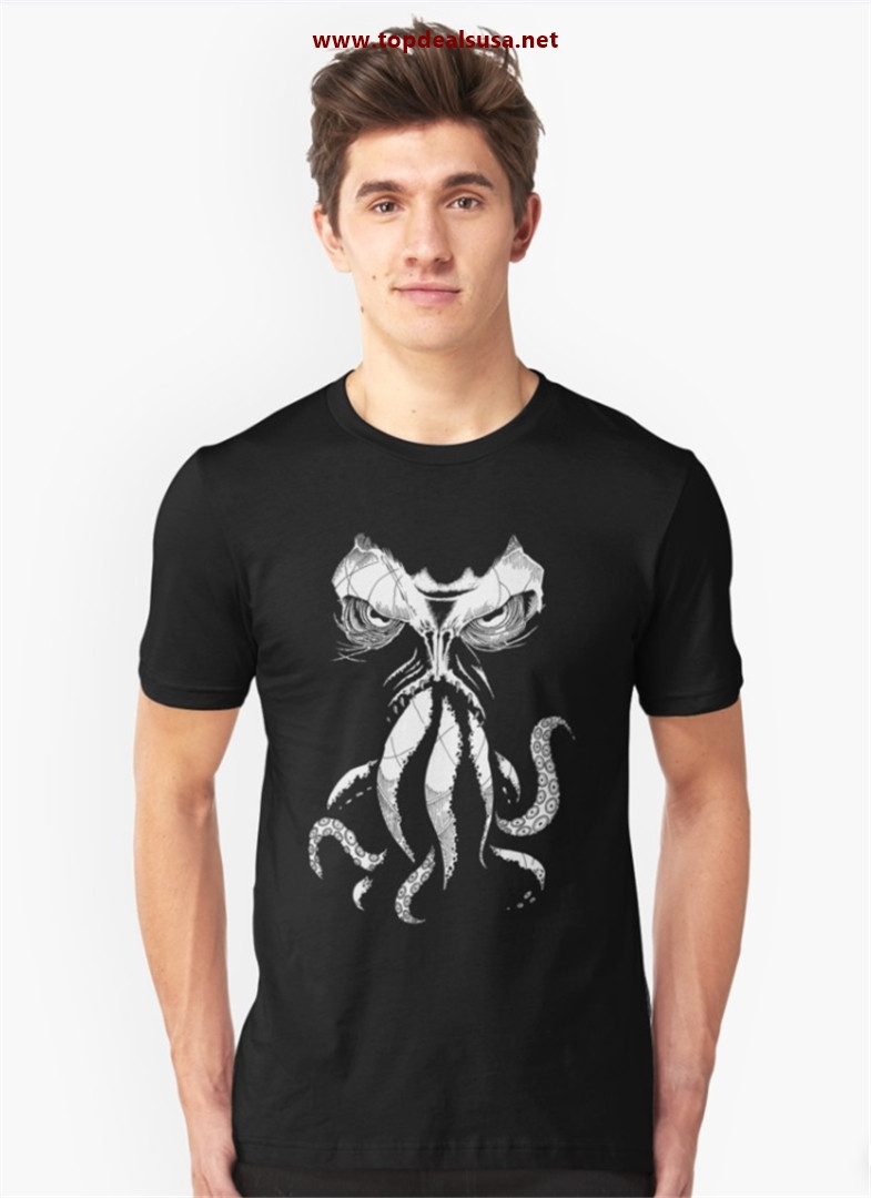Cthulhu wakes Slim Fit T-Shirt best buy