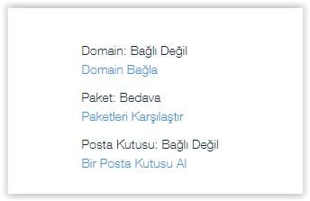 Var olan domain Wix siteye nasıl bağlanır?