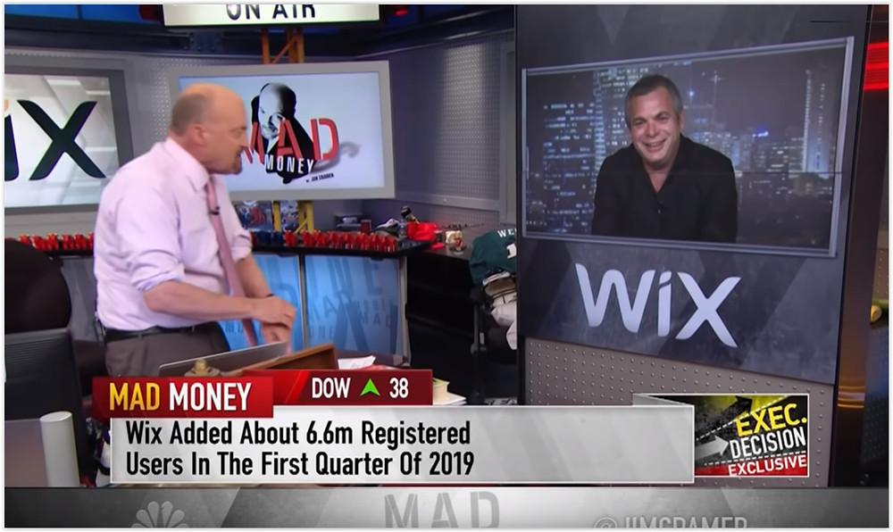 Wix CEO Avishai Abrahami at CNBC
