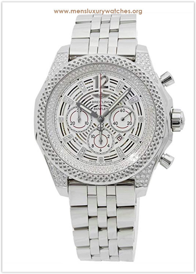 Breitling Bentley Mechanical (Automatic) Silver Dial Men's Watch Price