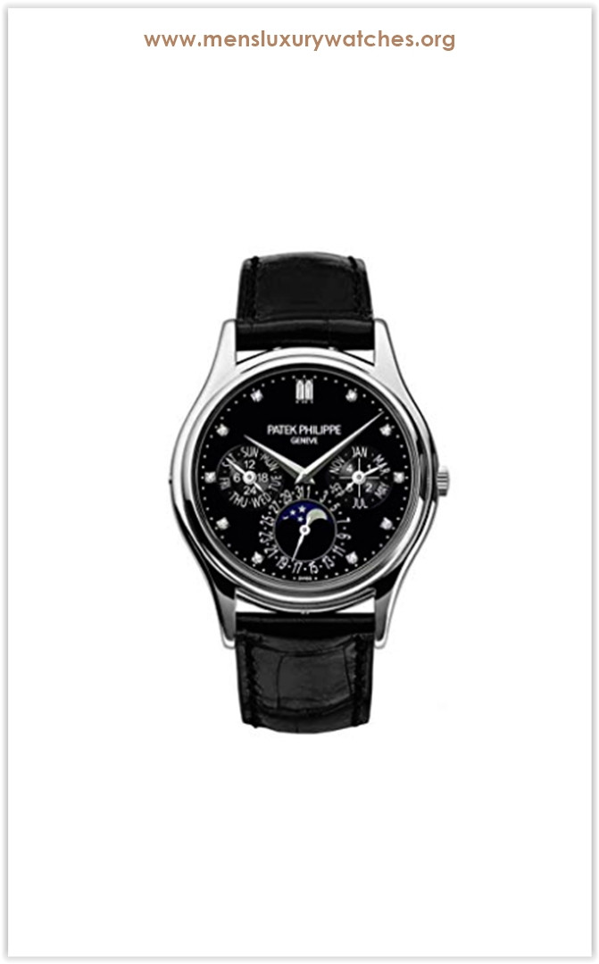 Patek Philippe Grand Complications Moonphase 37mm Platinum Men's Watch the best price