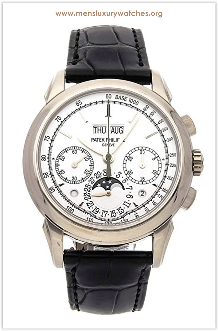 Patek Philippe Grand Complications Mechanical (Hand-Winding) Silver Dial Men's Watch 5270G-013 the best price