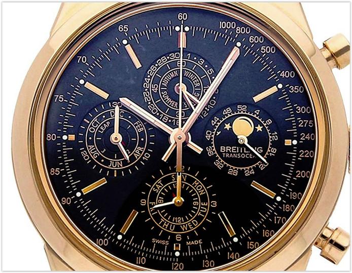 Breitling Transocean MechanicalBlack Dial Men's Watch