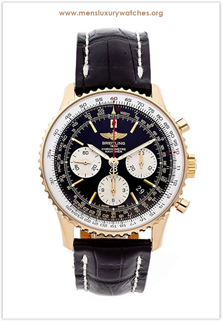 Breitling Navitimer Mechanical Black Dial Men's Watch Price