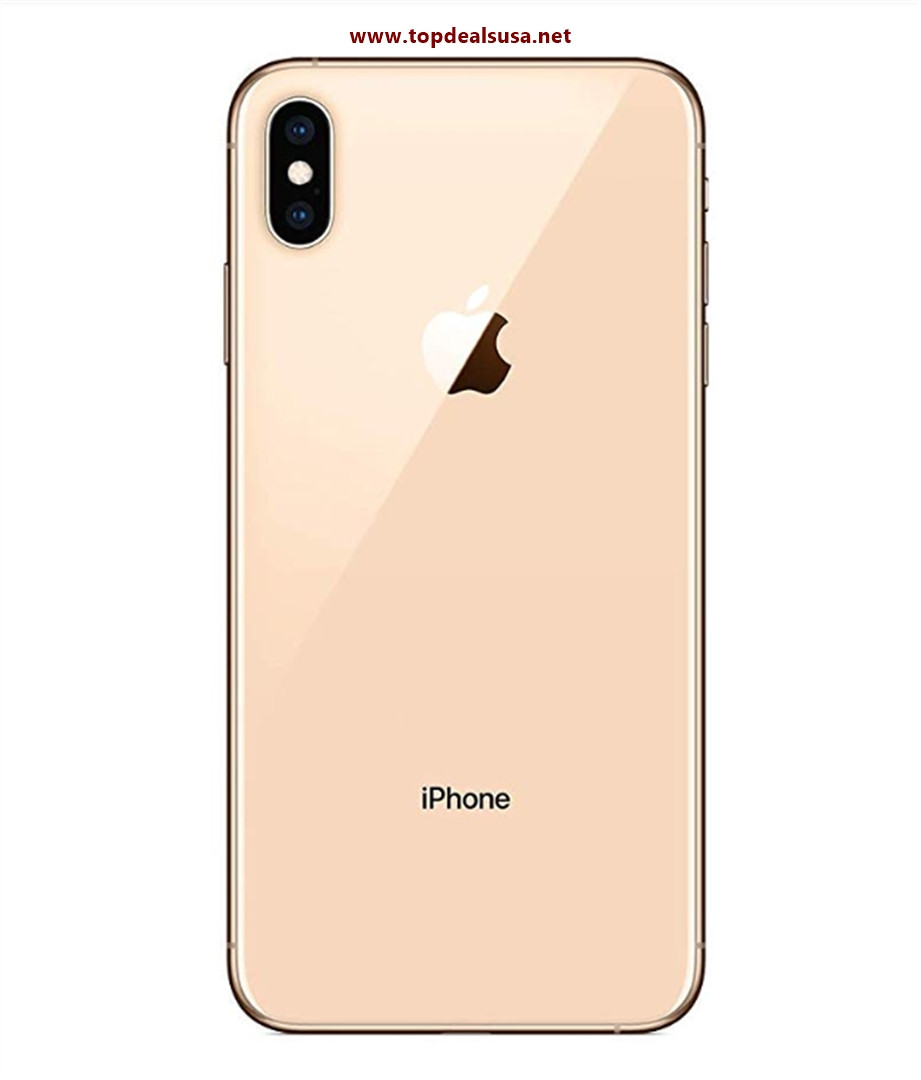 Simple Mobile Prepaid - Apple iPhone XS Max (64GB) - Gold best buy