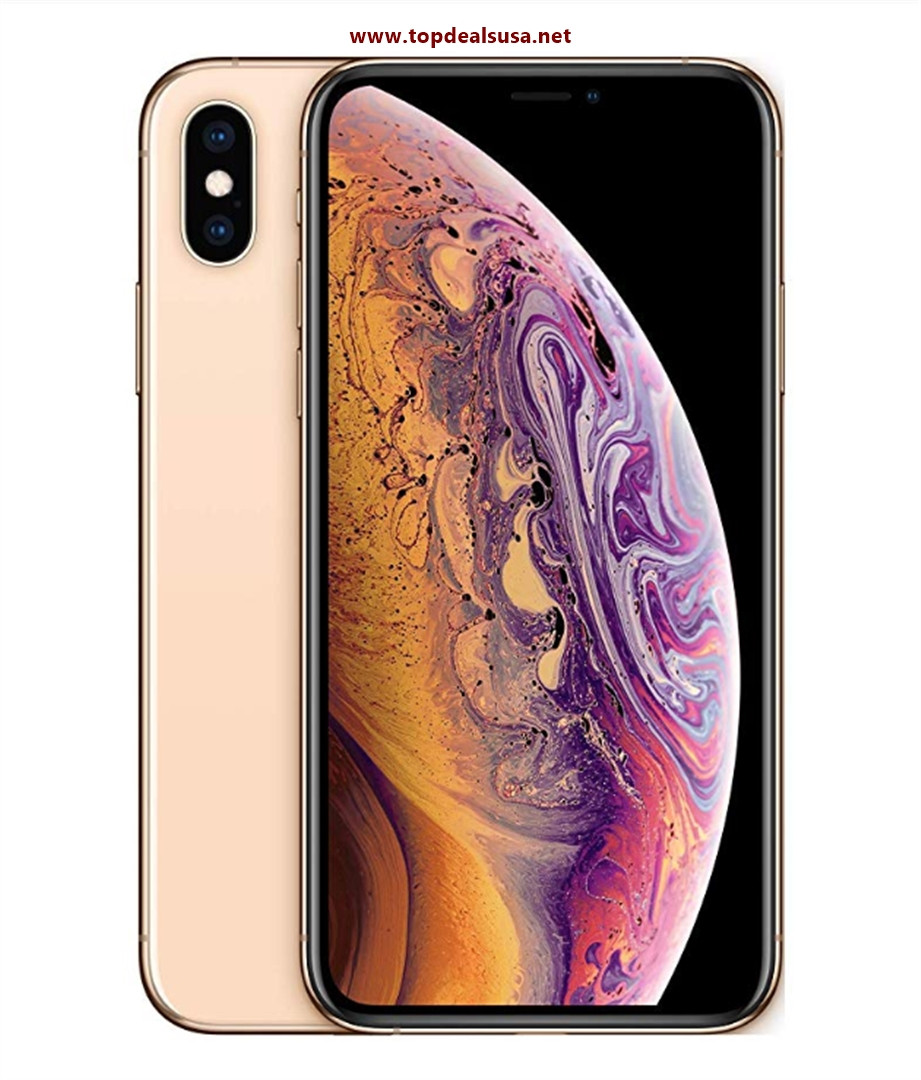 Simple Mobile Prepaid - Apple iPhone XS (64GB) - Gold best buy