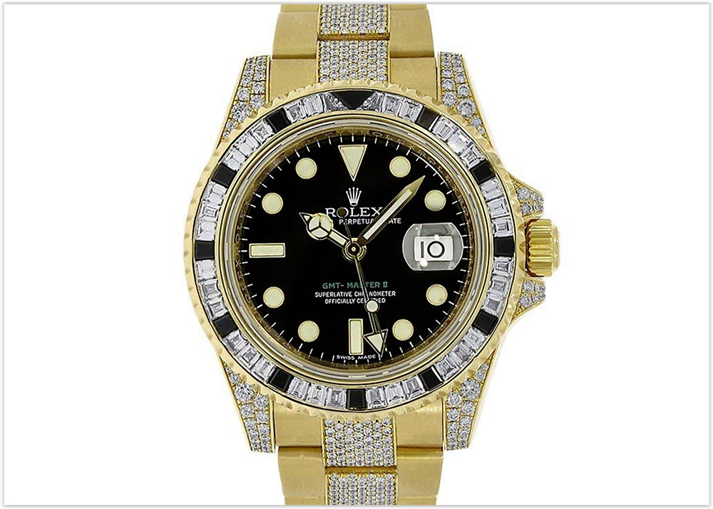 Rolex GMT Master II Automatic-self-Wind Male Watch