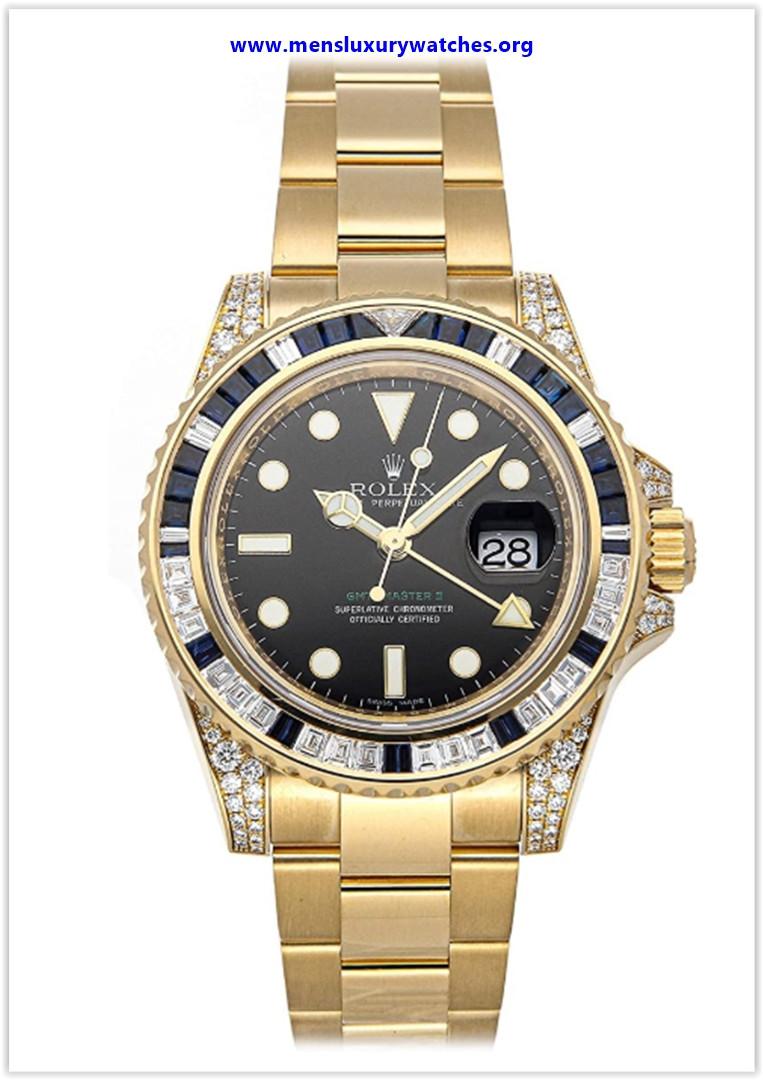 Best buy Rolex GMT Master II Mechanical (Automatic) Black Dial Men's Watch