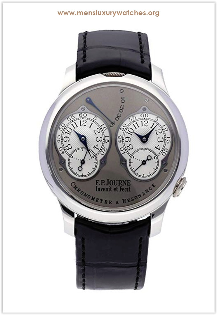 F.P. Journe Chronometre Resonance Mechanical (Hand-Winding) GreyCharcoal Dial Men's Watch Chronometre Resonance Price