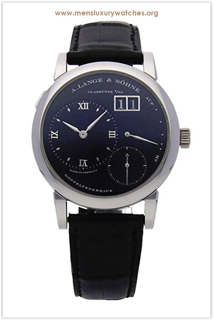 A. Lange & Sohne Lange 1 Mechanical (Hand-Winding) Black Dial Men's Watch 101.035 Price