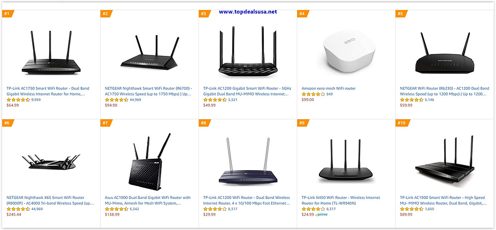 10 Best Router to buy