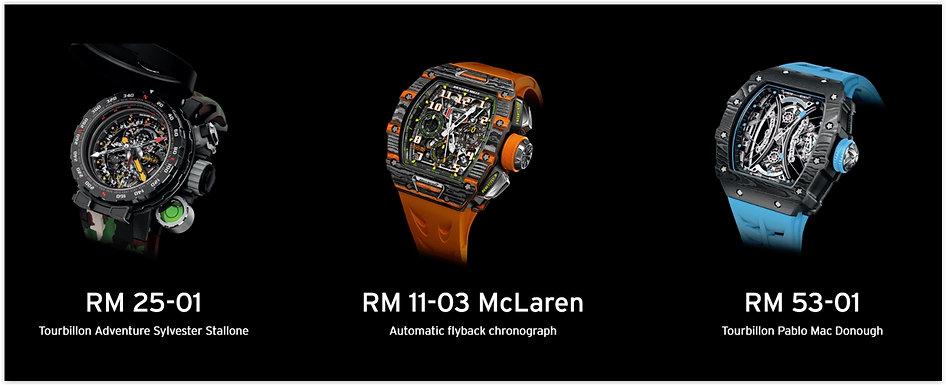 Richard Mille Luxury Wrist Watches