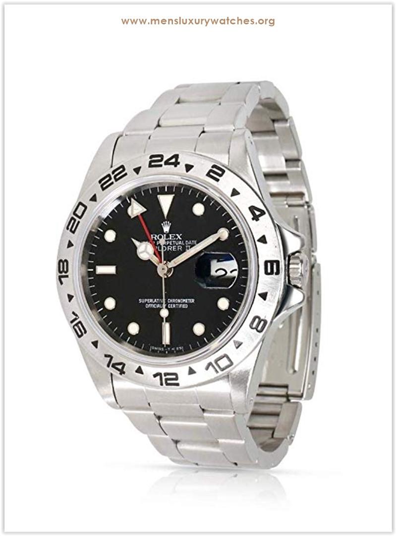 Rolex Explorer II 16550 Men's Watch in Stainless Steel the best price